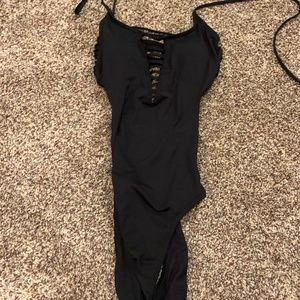 ripcurl black one piece.